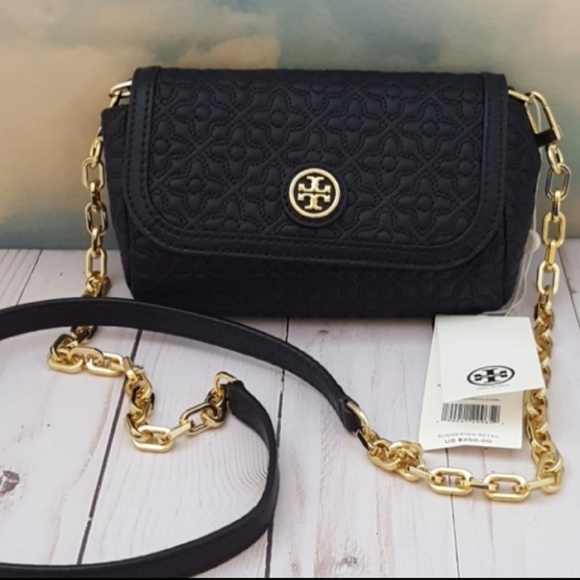 4359bfbb5e6b Tory Burch Bryant Quilted Small Leather Crossbody